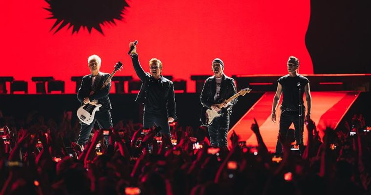 U2 Revives Joshua Tree on Album's 30th Anniversary at Met Life
