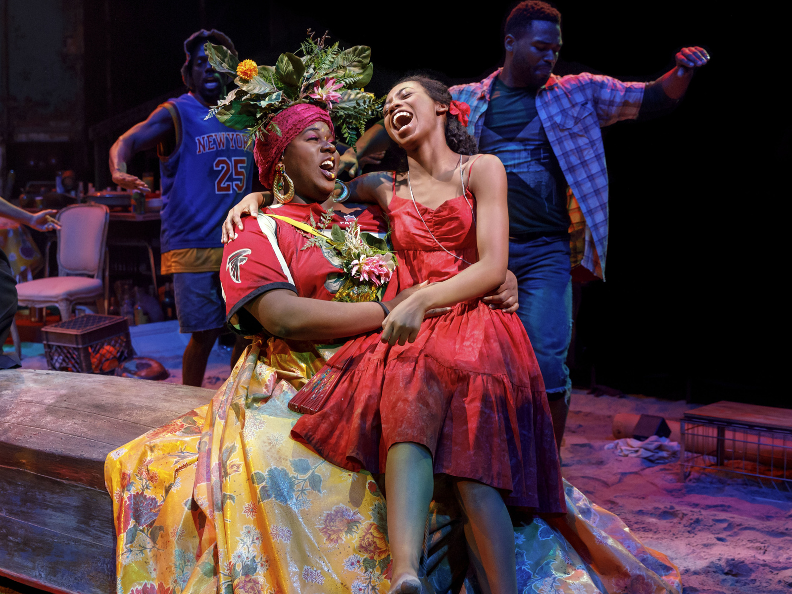 Tropical Fable Revived in Splendor— Once on this Island