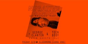 Negative Gemini EP Release Party