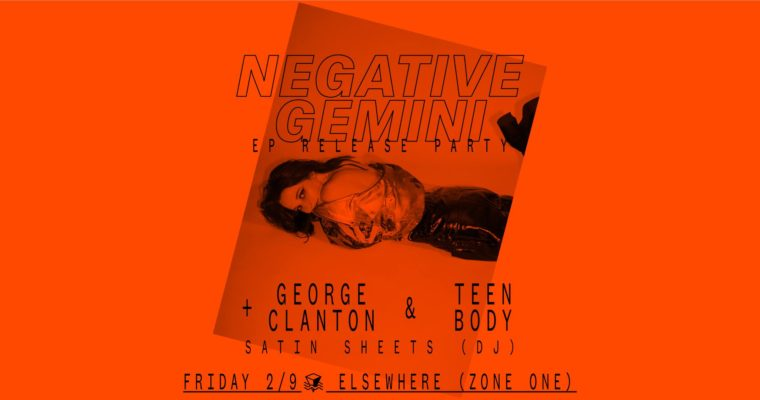 Two Recommendations a Day: Negative Gemini EP Release Party, Night at the Museum: Lunar New Year, and More