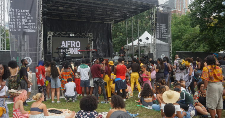 Finding Beauty Everywhere at Afropunk