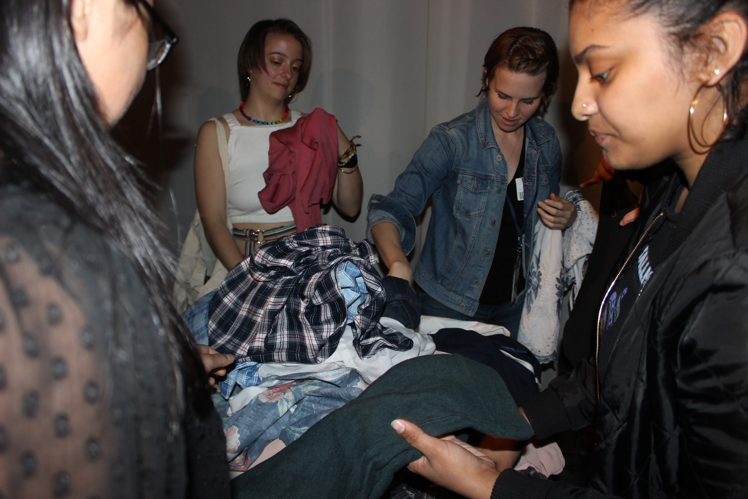 eco fashion expo clothing swap